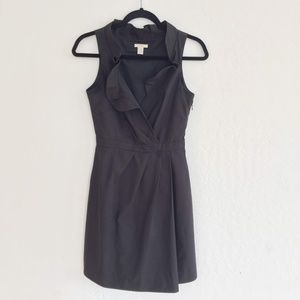 J Crew Black Sleeveless Dress